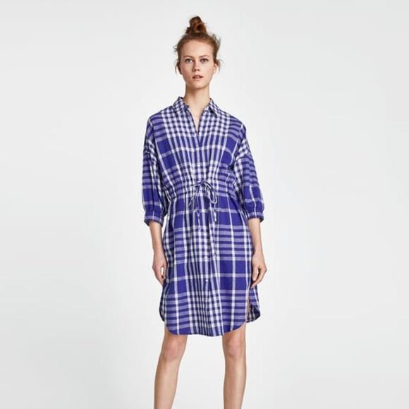 2211c882f7c NEW Zara Trafaluc SS 18 Stripe Midi Dress NEW Zara t